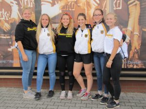 Die Softball-U16 Damen aus BW